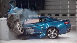 IIHS Muscle Car Crash Tests