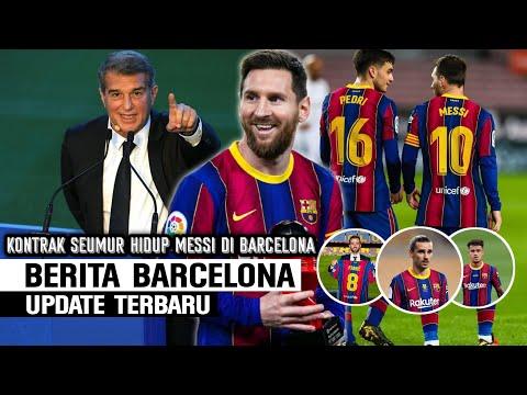 Luar Biasa Barcelona Terbaik IFFHS 👏 Kontrak Seumur Hidup Messi ✍️ Nasib 3 Pemain Barcelona 🔴