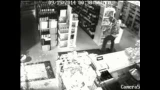 Liquor Cabinet Burglary 09/15/2014, Video 1