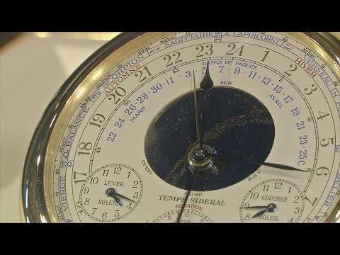 Сложнейшие карманные часы уйдут с молотка (новости)
