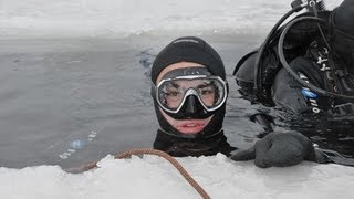 ICE,  2011, карьер Горный НСК - Подледный дайвинг!
