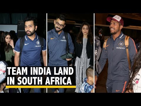 Team India Land in Cape Town For South Africa Tour   The Quint