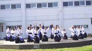 秋田大学 地域交流朝市で行われた 演舞です.