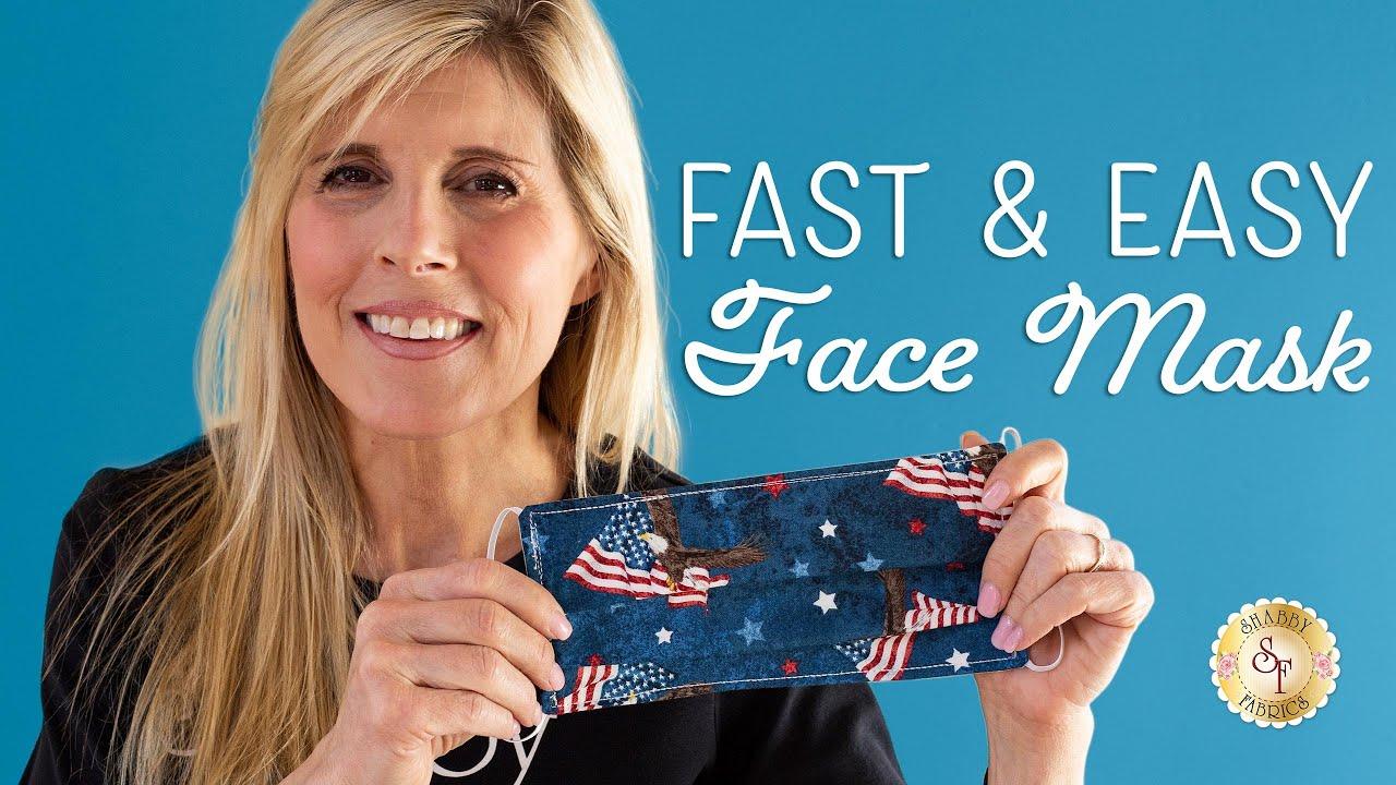 Face Mask | a Shabby Fabrics Tutorial ...