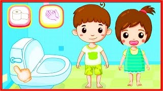 👶🚽Toilet Training - Baby's Potty - BabyBus Games | Learning Game for Young Children👶🚽