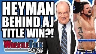 roman reigns cleared for wwe return aj styles wwe title win   wrestletalk news nov 2017