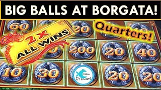 Mr. CT gets his HAPPY ENDING at Borgata!!! Mighty Cash Slot Machine, Dragon Link, Screaming Links!