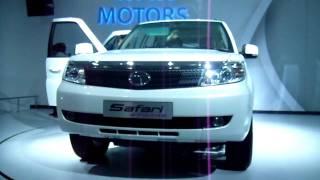 New Tata Safari Storme SUV at Auto Expo 2012, New Delhi, India