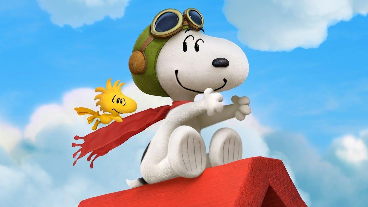 Karakter anjing Snoopy.