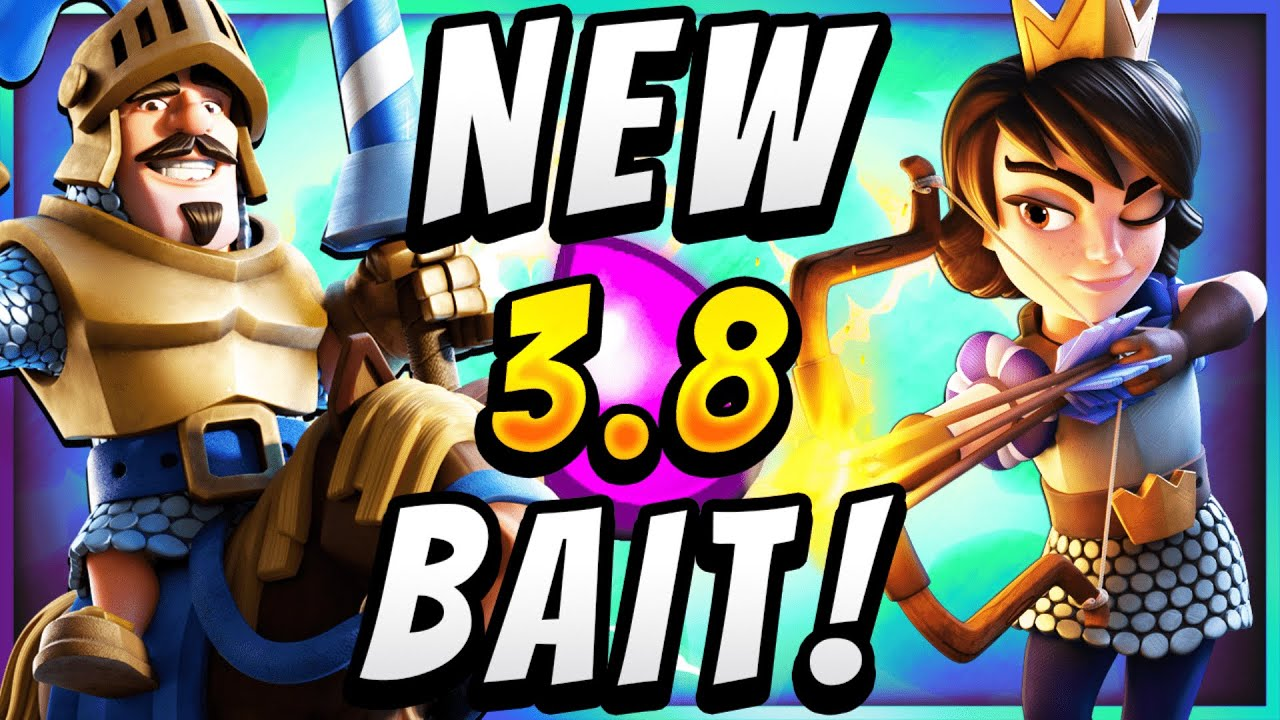 #1 STRONGEST LOG BAIT DECK in CLASH ROYALE!