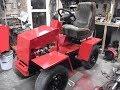 Поделки - Самодельный трактор 4х2 + косилка / Покраска трактора