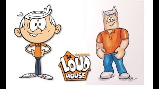 The Loud House Characters as Roblox