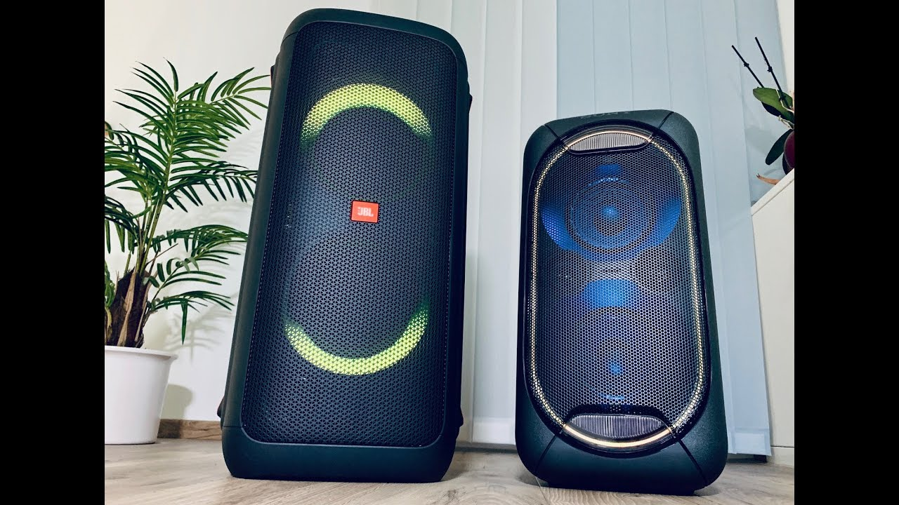 JBL Partybox 300 vs Sony GTK XB60 Sound Comparsion