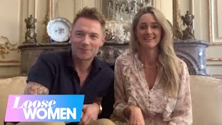 Ronan Keating Cried When Robbie Williams Called Him About Their Stephen Gately Tribute | Loose Women