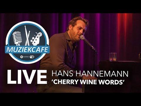 Hans Hannemann - 'Cherry Wine Words' live bij Muziekcafé