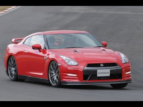 NISSAN GT-R 2014 model year TEST Driving report??English version ?