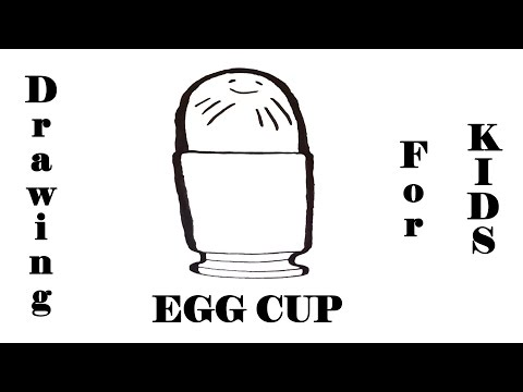 How To Draw An EGG Cup With Pencil EASY   On Paper   #MrUsegoodART