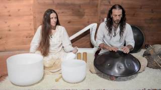 White Feather & Ori guests at the Neale Donald Walsch online Seminar - Sound Healing Meditation