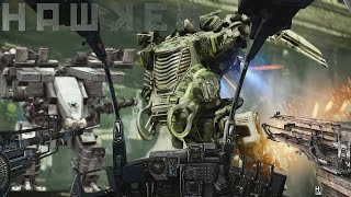 Hawken (トロフィ) - PC GAMEPLAY - (UDK / UNREAL ENGINE 3) (Free To Play Mech Game) (Multi-Player Test)
