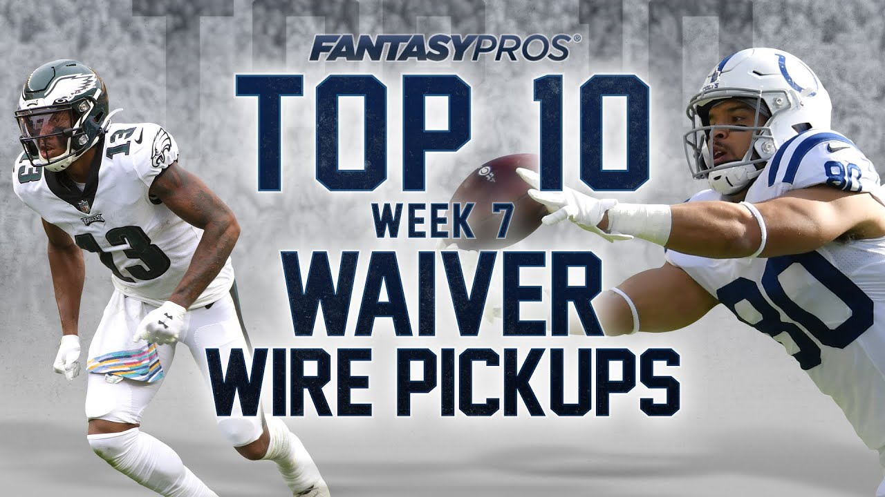 Top 10 Week 7 Waiver Wire Pickups 2020 Fantasy Football Youtube