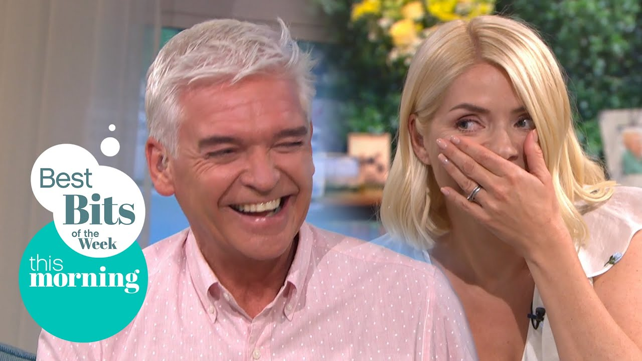 Best Bits of the Week: Phillip Makes Holly Jump & Watermelon Crushing Thighs | This Morning