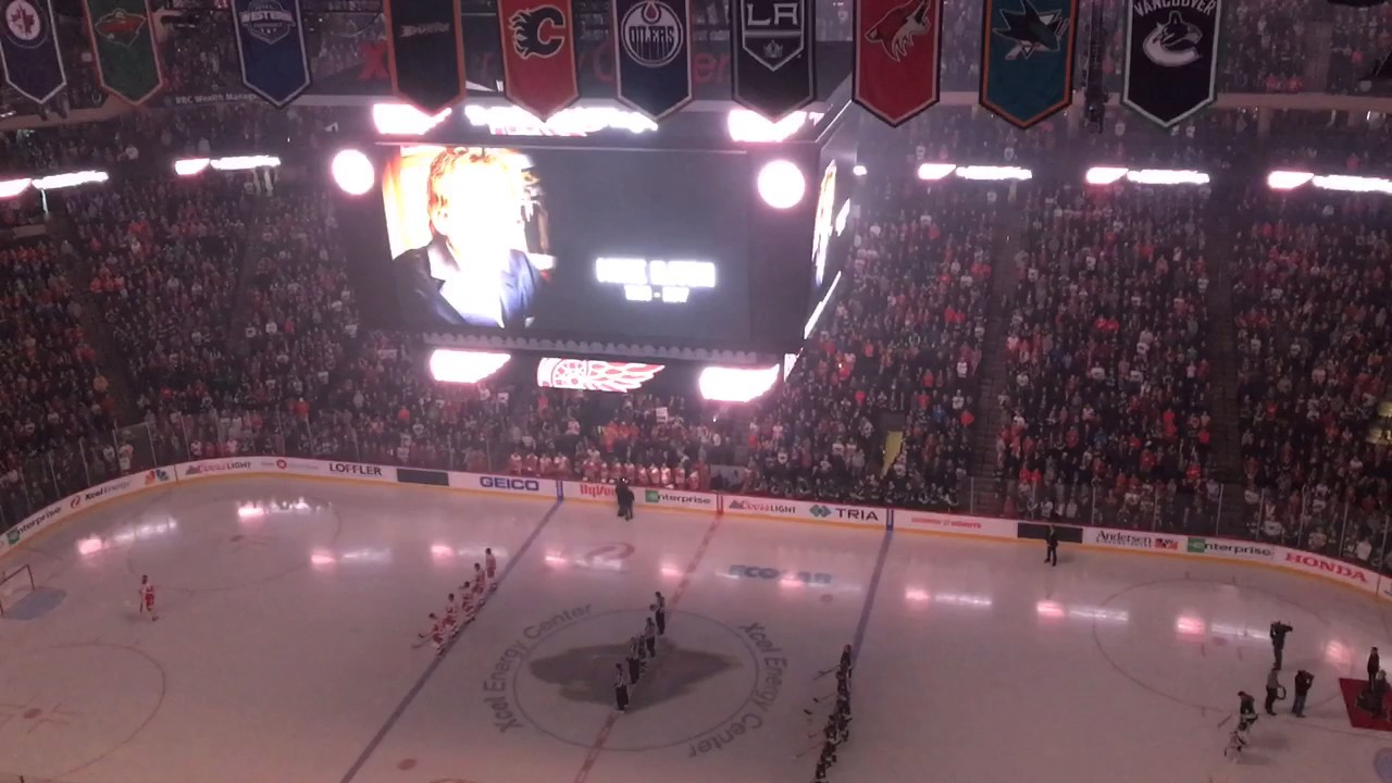 Minnesota Wild pay tribute to Mike Ilitch before game vs ...