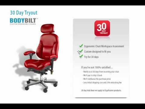 severe lower back pain while sitting this ergonomic desk chair can