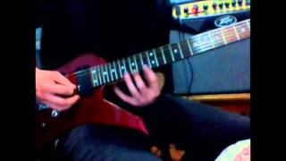 DragonForce  Best Heroes Of Our Time Solo Cover (3 first solos )