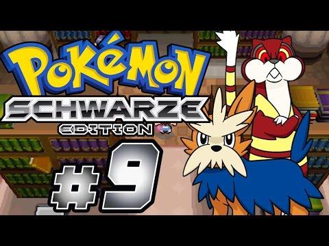 POKÉMON SCHWARZ # 09 ★ Bücherei und Arena in einem! [HD   60fps] Let's Play Pokémon Schwarz