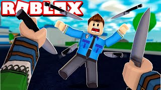I FACED MY FRIEND IN THE CHALLENGE OF MURDER IN ROBLOX!! (Mystery Murder)