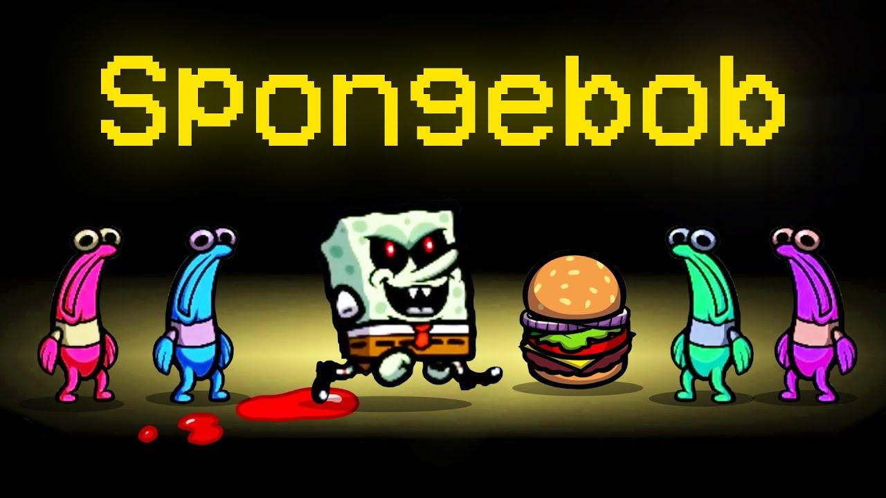 NEW SPONGEBOB HORROR Mod in Among Us! (SpongeBob Impostor Mod)