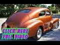 "1947 Chevrolet Fleetline ""areo Sedan"" / Custom Resto Mod"