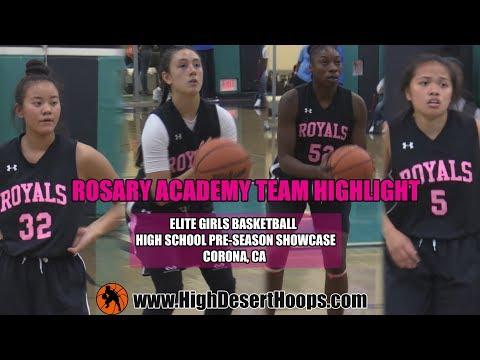 Rosary Academy -  Elite girls Basketball High School Pre-Season  Showcase (Team Mix)