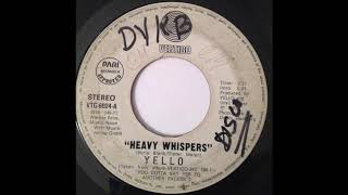 Yello - Heavy Whispers (slowed down)