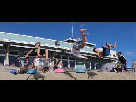 Beach Flips | A Cinematic Short Film