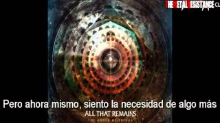All That Remains- This Probably Won't End Well (Subtitulada en español)