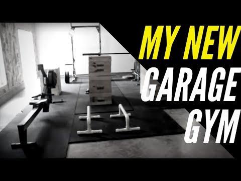 My NEW Garage Gym Setup