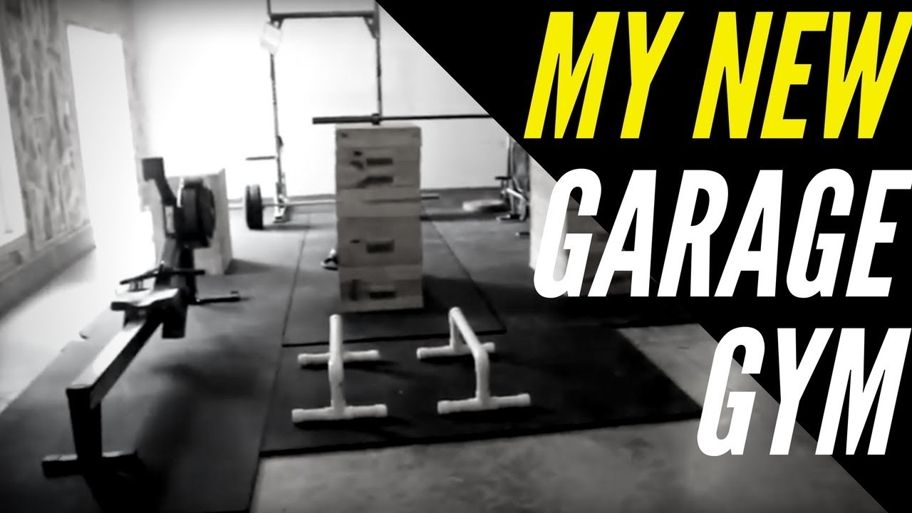 My new garage gym setup youtube