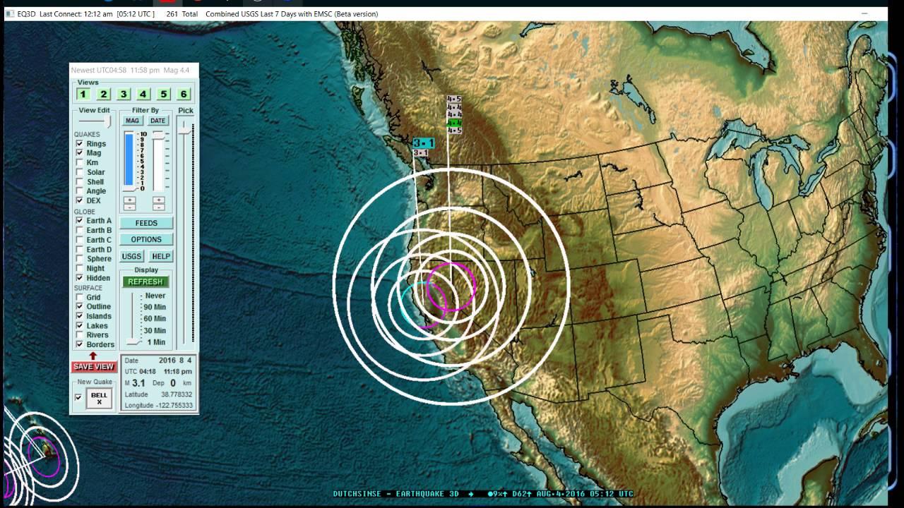 8 04 2016 large earthquake swarm hits n california 𝔼𝕒𝕣𝕥𝕙𝕢𝕦𝕒𝕜𝕖𝟛𝔻 𝓵𝓲𝓿𝒆 𝓼𝓽𝓻𝒆𝓪𝓶 youtube