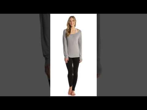 Zobha Drape Back Long Sleeve | SwimOutlet.com