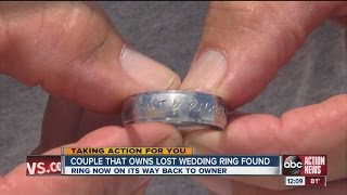 Lost ring is lost no more, thanks to Bob the Metal Detector Detective