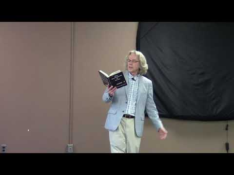 Epic Poetry Reading, Frederick Glaysher, Troy Public Library Sept 23, 2017