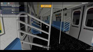 Roblox: Simulateur de train de métro Riding R160B C train full ride part 2