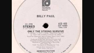 Watch Billy Paul Only The Strong Survive video