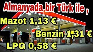 Almanyada Benzin Dizel ve LPG fiyatları . Almanyada yaşam