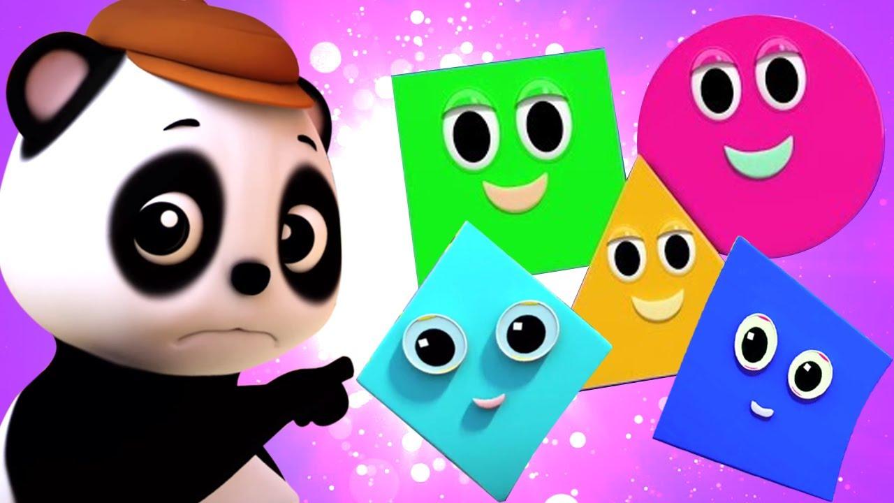 Bài hát hình dạng | Vần điệu trẻ | Thơ phổ biến | Baby Bao Panda Vietnam | Giáo dục