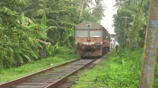 Sri Lankan trains
