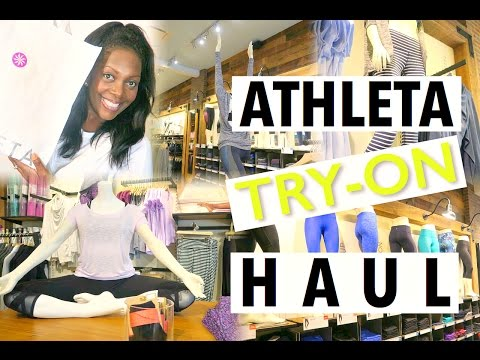 Athleta Travel and Fitness Wear + Try-On Haul