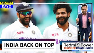 JADDU's MAGIC takes AUS by storm on Day 2   Redmi 9 Power presents 'Thunder Down Under'   3rd Test