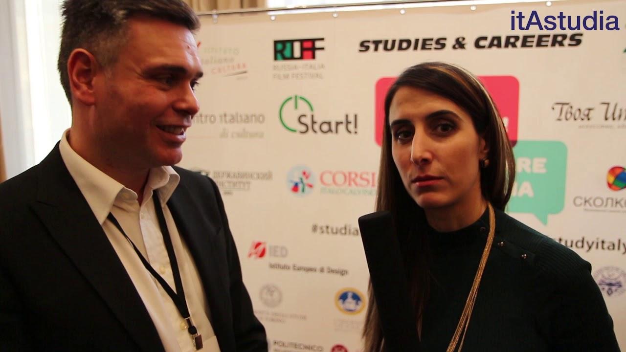 Выставка итальянского образования в Москве 2017 | учись в Италии | studiare in Italia